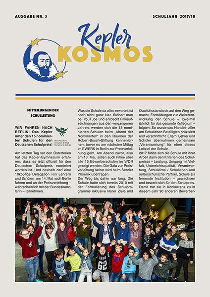 Kepler Kosmos 3 2017 18 1A