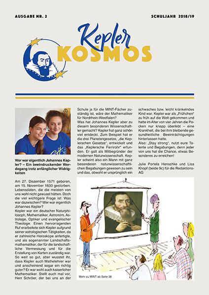 Kepler Kosmos 2 2018 19 1A